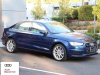 This outstanding example of a 2016 Audi A3 2.0T Premium