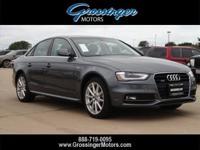 Options:  2016 Audi A4 Premium|Monsoon Gray