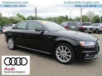 CARFAX 1-Owner! This 2016 Audi A4 Premium Plus, has a