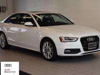 This outstanding example of a 2016 Audi A4 Premium Plus