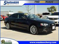 Options:  2016 Audi A4 2.0T Quattro Premium Plus|Awd