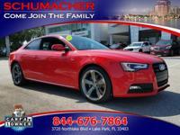 Options:  2016 Audi A5 Prem Plus Sport| |Anti-Theft