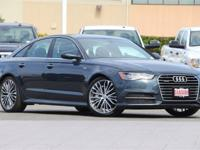 CARFAX One-Owner. Clean CARFAX. 2016 Audi A6 2.0T