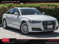 Delivers 32 Highway MPG and 22 City MPG! This Audi A6
