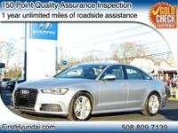 Audi A6 2016 2.0T Premium Plus quattro 10 Speakers,