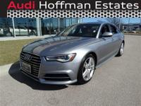 This Audi A6 has a strong Intercooled Turbo Premium