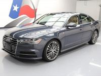2016 Audi A6 with S Line Package,2.0L I4 DI