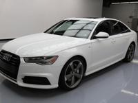 2016 Audi A6 with S-Line Package,3.0L Turbocharged