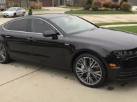 I'm selling my 2016 Audi A7. It's just about as