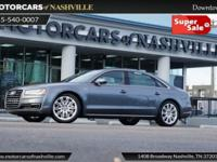 This 2016 Audi A8 L 4dr 4dr Sedan 3.0T features a 3.0L