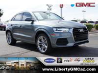 Turbocharged! Gasoline! This good-looking 2016 Audi Q3