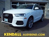 This outstanding example of a 2016 Audi Q3 Premium Plus