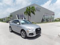 ***AUDI CERTIFIED***FLORETT SILVER OVER BLACK