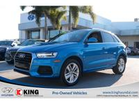 2016 AUDI Q3 2.0T PREMIUM PLUS EDITION with a 2.0L I4 F