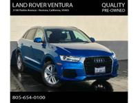 As new,super nice pre-owned Audi Q3 with the 2.0T