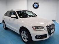 Recent Arrival! CARFAX One-Owner. 2016 Audi Q5 2.0T