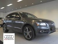 This 2016 Audi Q5 3.0 Premium Plus is offered to you by