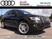 Audi Certified..CARFAX One-Owner..This Low Mileage, All