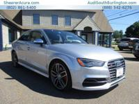 PREMIUM KEY FEATURES ON THIS 2016 Audi S3 include, but