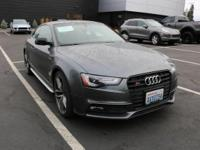 This outstanding example of a 2016 Audi S5 Prestige is