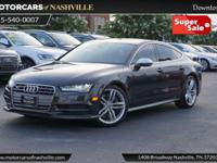 This 2016 Audi S7 4dr 4dr Hatchback features a 4.0L 8