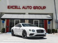 Introducing the 2016 Bentley Continental GT V8S with
