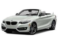 Introducing the 2016 BMW 228i! It sets the benchmark