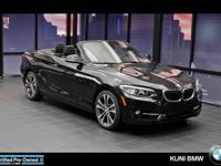 FUEL EFFICIENT 33 MPG Hwy/22 MPG City! BMW Certified,