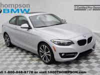 Introducing the 2016 BMW 228i! A great car and a great