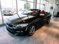 Clean CARFAX. Black Sapphire Metallic 2016 BMW 2 Series