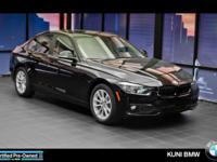 BMW Certified, GREAT MILES 4,198! 320i xDrive trim. EPA