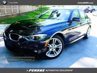 CARFAX 1-Owner, BMW Certified, GREAT MILES 8,860! Black