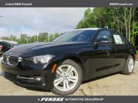 CARFAX 1-Owner, LOW MILES - 2,058! 328i trim, Jet Black