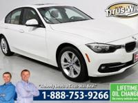 Sunroof, 2016 BMW 3 Series, White, 328i, Completely