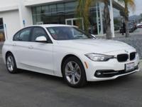 BMW Certified, GREAT MILES 6,789! 328i trim. EPA 35 MPG