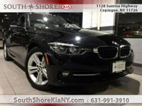 Black 4D Sedan 2016 BMW 3 Series 328i xDrive AWD