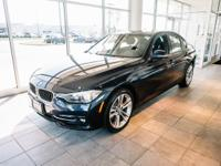 Certified. Imperial Blue 2016 BMW 3 Series 328i xDrive
