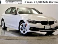 Low APR Available! Call for Details! BMW Elite CPO 5