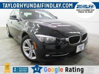 2016 Black BMW 3 Series 328i xDrive    Leather,