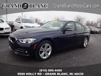 2016 3 SERIES 328I XDRIVE with LOW MILES **AWD**Rear