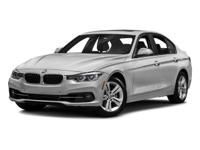 New Arrival! LOW MILES, This 2016 BMW 3 Series 4dr Sdn