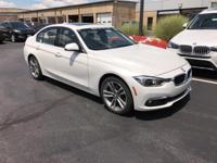 Recent Arrival! 2016 Mineral White Metallic BMW 3
