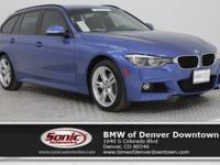 Delivers 33 Highway MPG and 22 City MPG! This BMW 3