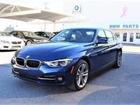 We are excited to offer this 2016 BMW 3 Series. This