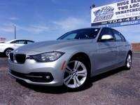 New Price! Silver 2016 BMW 3 Series 328i RWD 8-Speed