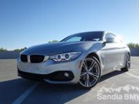 Sandia BMW mini is offering this  2016 BMW 4 Series
