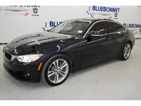 *Turn heads in this midnight blue metallic 2016 BMW