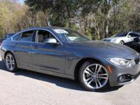This 2016 BMW 4 Series 428i Gran Coupe in Mineral Gray