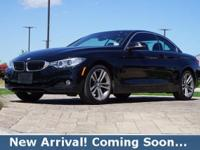 2016 BMW 4 Series 428i xDrive in Jet Black, AWD, This 4