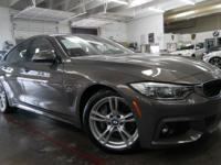 Options:  2016 Bmw 4 Series 435I|Mineral Gray
